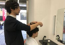 Men'sヘアページの撮影!!