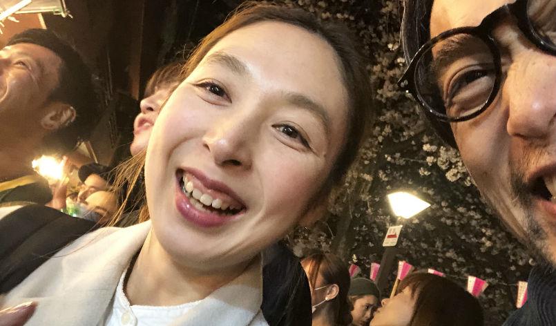 Door 目黒川花見