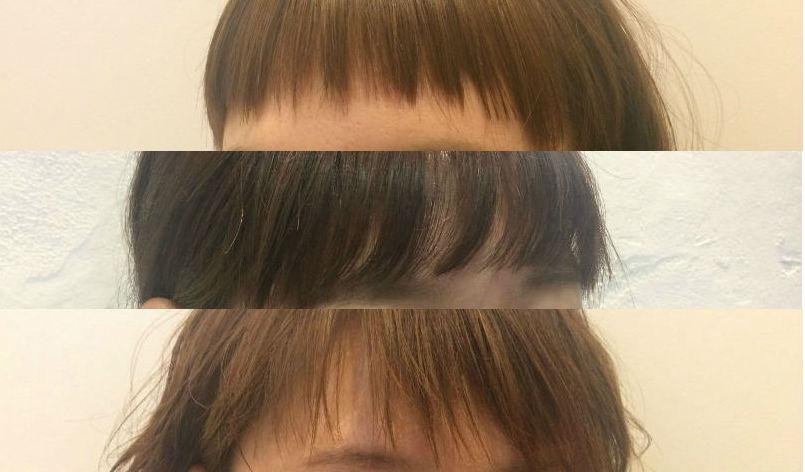 Door女子の前髪事情