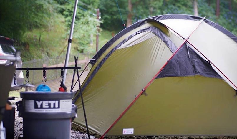 自宅でFeel Camp