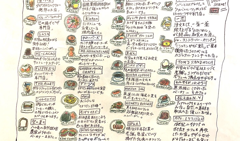 代官山飲食店