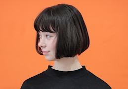 エノキモトジュンのヘアデザイン。