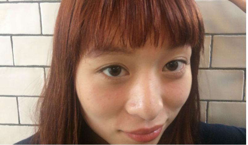 吉野の透け感前髪