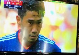 ロシアW杯 日本×コロンビア